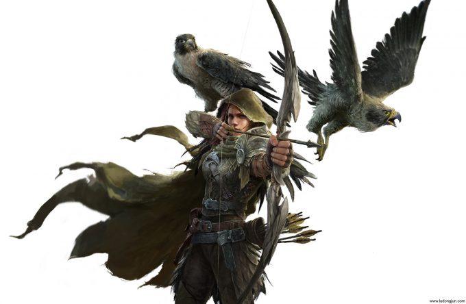 russell dongjun lu character vote archer render finish dongjun small