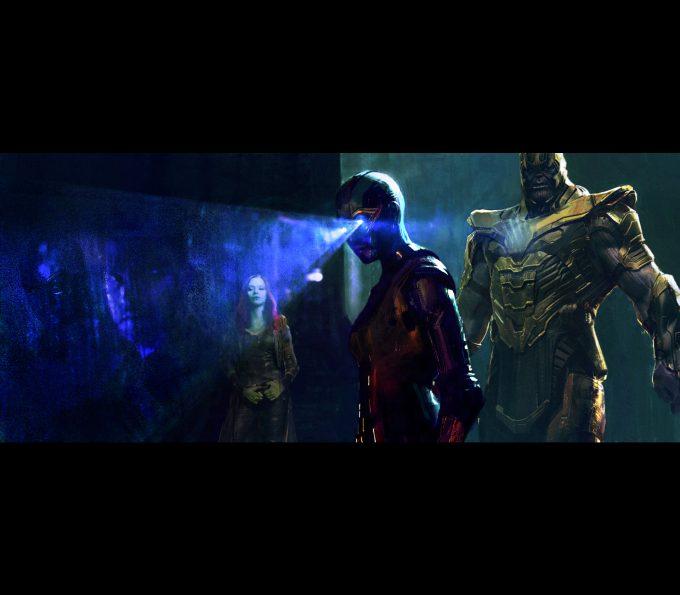 Avengers Infinity War Concept Art Alexander Mandradjiev memories v2