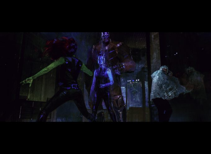 Avengers Infinity War Concept Art Alexander Mandradjiev nebula thanos gamora morph v3 2