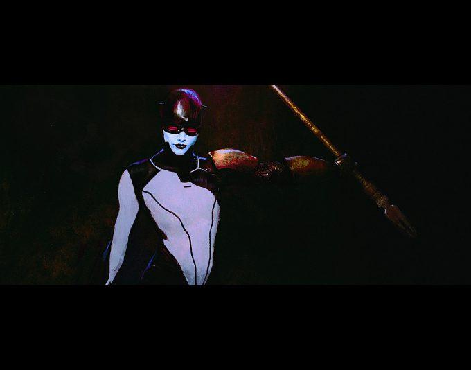 Avengers Infinity War Concept Art Alexander Mandradjiev proxima midnightv2 s2 s2