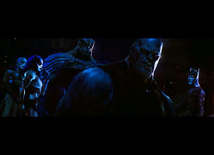 Avengers Infinity War Concept Art Alexander Mandradjiev thanos blackorder leading wip v6 3
