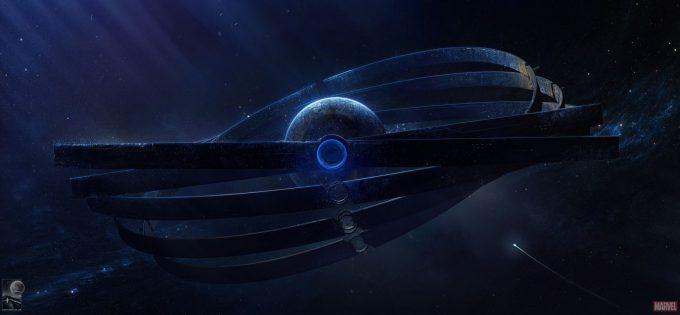 Avengers Infinity War Concept Art Chris Kesler 1