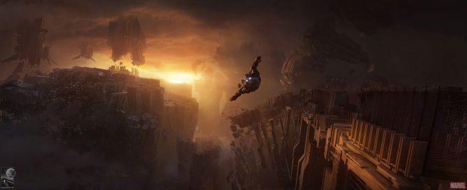 Avengers Infinity War Concept Art Chris Kesler 2 1