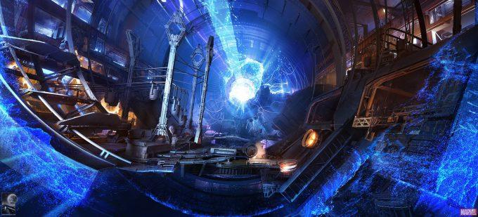 Avengers Infinity War Concept Art Chris Kesler 24