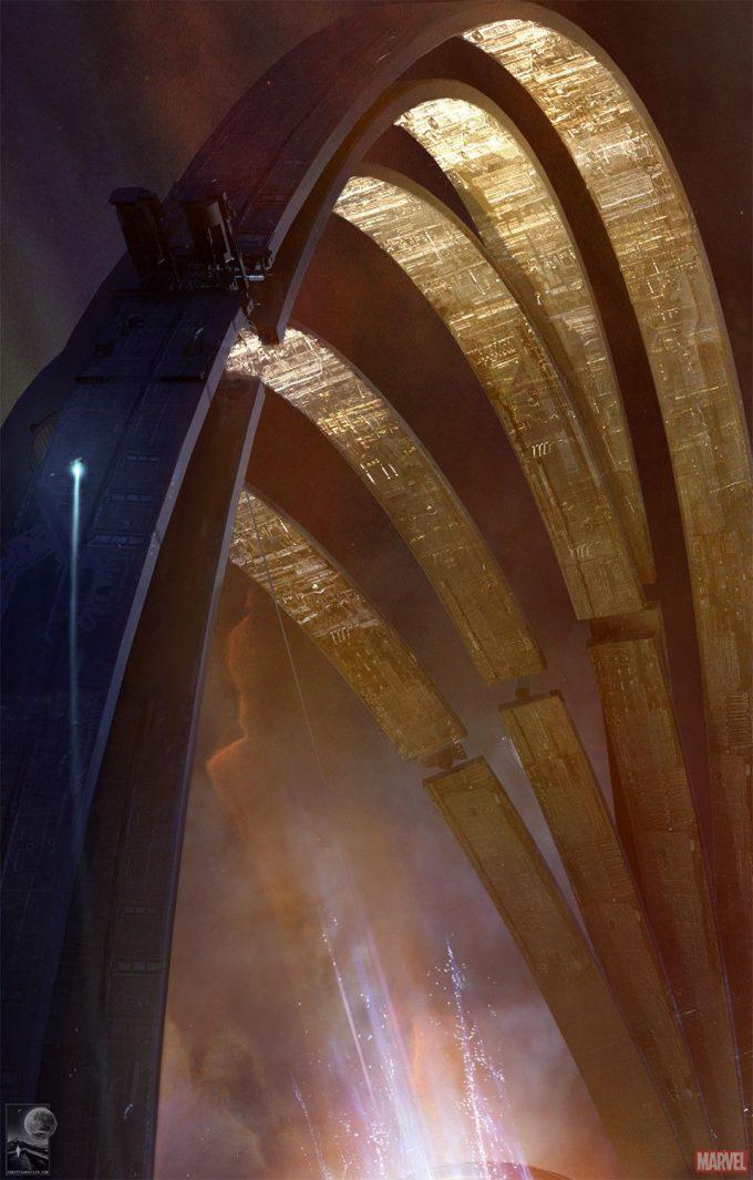 Avengers Infinity War Concept Art Chris Kesler 29