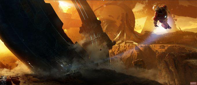 Avengers Infinity War Concept Art Chris Kesler 3 01