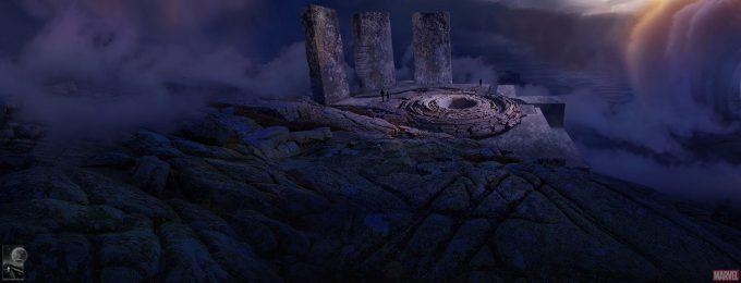 Avengers Infinity War Concept Art Chris Kesler 38