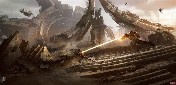 Avengers Infinity War Concept Art Chris Kesler 4