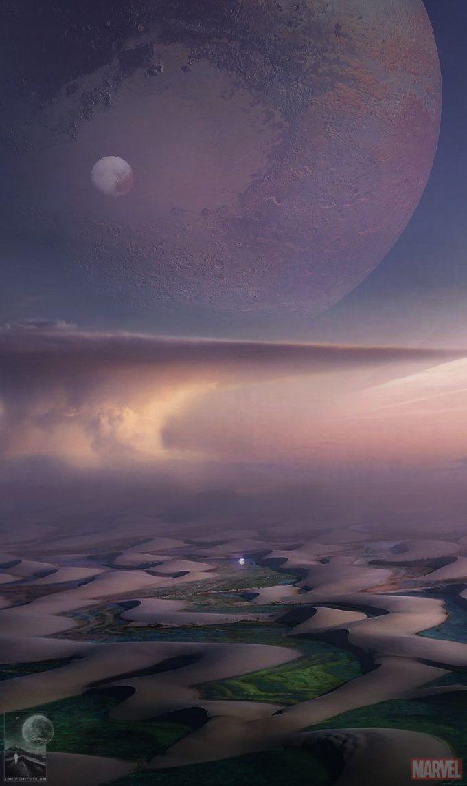 Avengers Infinity War Concept Art Chris Kesler 40