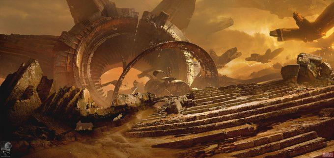 Avengers Infinity War Concept Art Chris Kesler 5