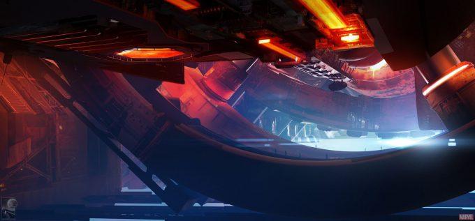 Avengers Infinity War Concept Art Chris Kesler 5a