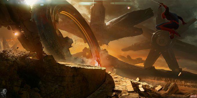 Avengers Infinity War Concept Art Chris Kesler 6
