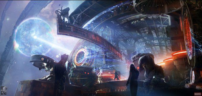 Avengers Infinity War Concept Art Chris Kesler 8