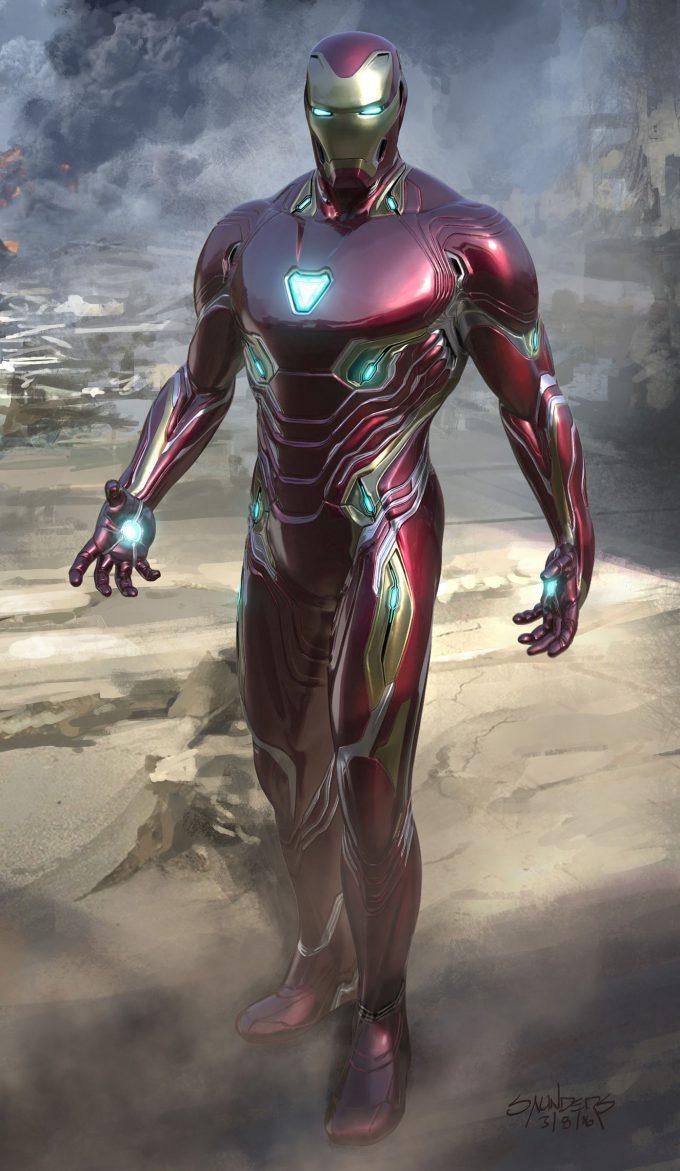 Avengers Infinity War Concept Art Phil Saunders im mk50 versionbfront