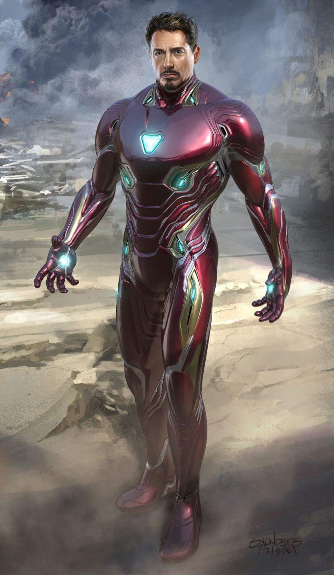 Avengers Infinity War Concept Art Phil Saunders im mk50 versionbfrontrdj