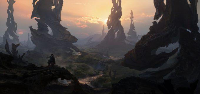 Christian Dimitrov concept art fantasy landscape