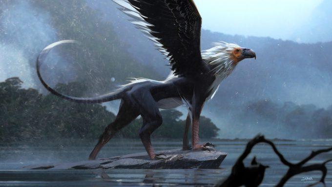 Fantastic Beasts The Crimes of Grindelwald Concept Art Jama Jurabaev ilm griffin 013