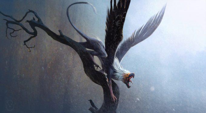 Fantastic Beasts The Crimes of Grindelwald Concept Art Jama Jurabaev ilm griffin 014