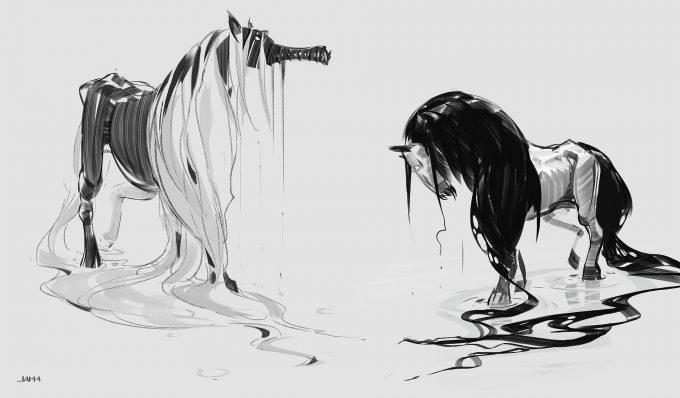 Fantastic Beasts The Crimes of Grindelwald Concept Art Jama Jurabaev kelpi4