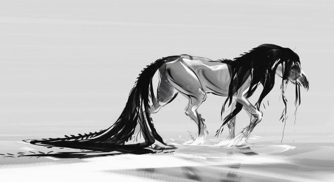 Fantastic Beasts The Crimes of Grindelwald Concept Art Jama Jurabaev kelpi5