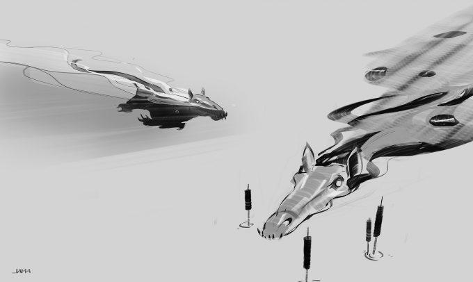 Fantastic Beasts The Crimes of Grindelwald Concept Art Jama Jurabaev kelpi6