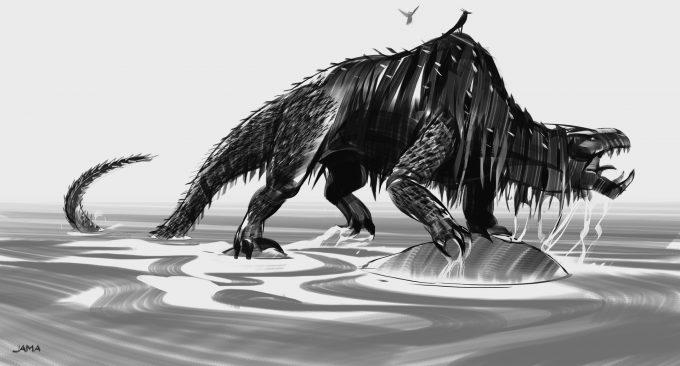 Fantastic Beasts The Crimes of Grindelwald Concept Art Jama Jurabaev peluda v0001