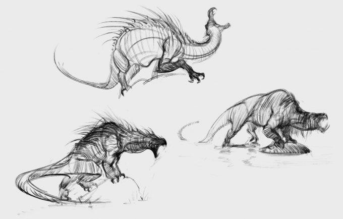 Fantastic Beasts The Crimes of Grindelwald Concept Art Jama Jurabaev peluda v0002