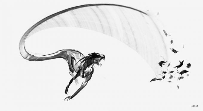 Fantastic Beasts The Crimes of Grindelwald Concept Art Jama Jurabaev voltaire zouwu v002 0004