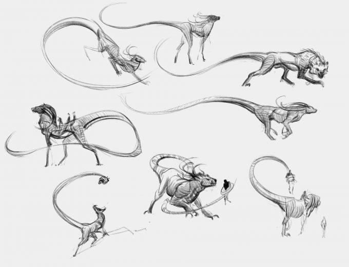 Fantastic Beasts The Crimes of Grindelwald Concept Art Jama Jurabaev zouwu