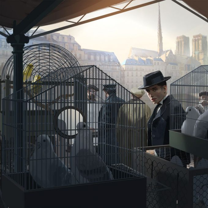 Fantastic Beasts The Crimes of Grindelwald Concept Art Peter Popken 01