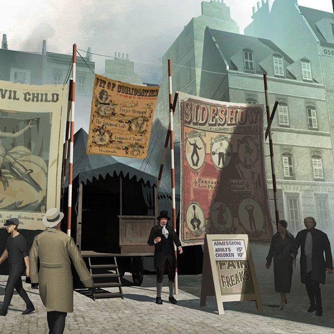 Fantastic Beasts The Crimes of Grindelwald Concept Art Peter Popken 05
