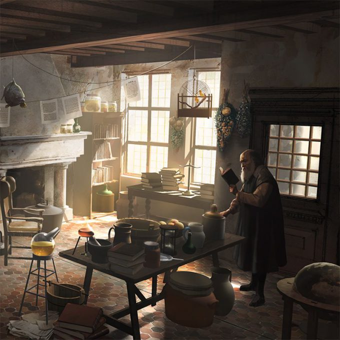 Fantastic Beasts The Crimes of Grindelwald Concept Art Peter Popken 07