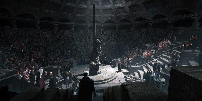 Fantastic Beasts The Crimes of Grindelwald Concept Art Peter Popken 14