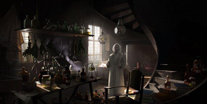 Fantastic Beasts The Crimes of Grindelwald Concept Art Peter Popken 15