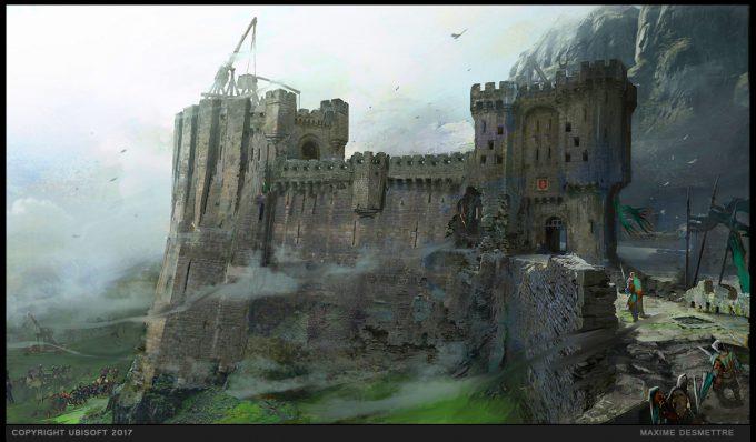 For Honor Game Concept Art Maxime Desmettre 03 mvp rampartwalls