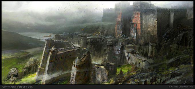 For Honor Game Concept Art Maxime Desmettre 03 plainsanctuary keepmood