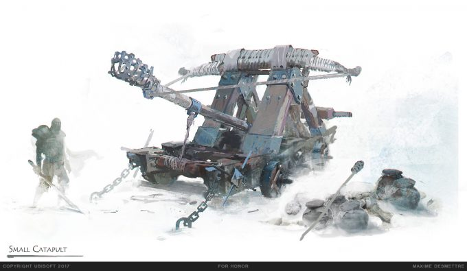 For Honor Game Concept Art Maxime Desmettre 04 catapult small sketch