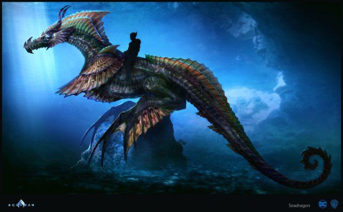Aquaman Movie Concept Art 04 Seadragon Nereus