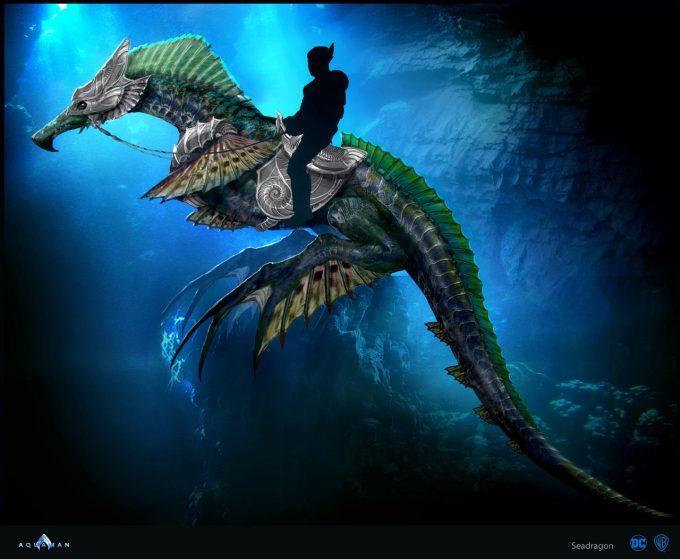 Aquaman Movie Concept Art 05 Seadragon