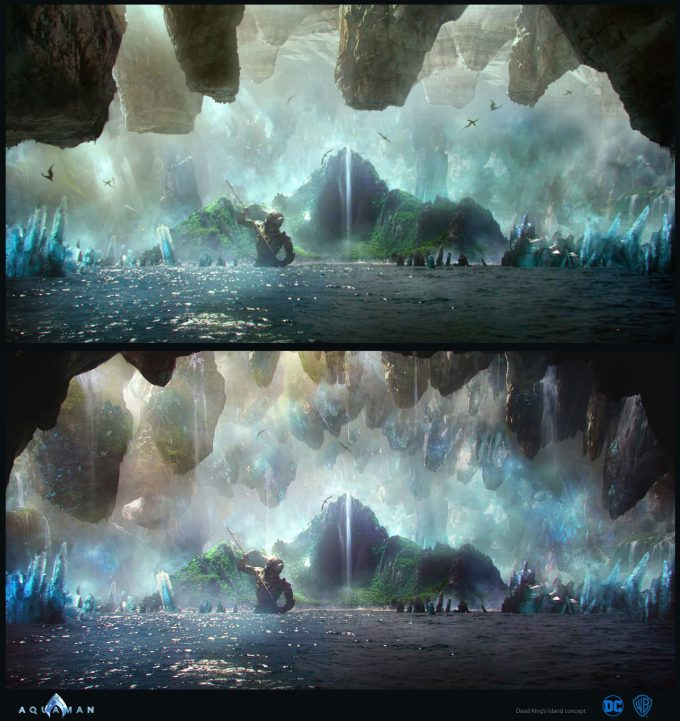 Aquaman Movie Concept Art 09 Dead Kings Island 02
