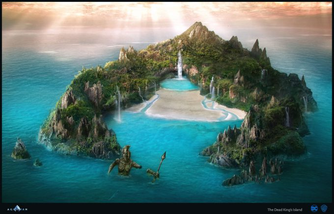 Aquaman Movie Concept Art 10 Dead Kings Island 01