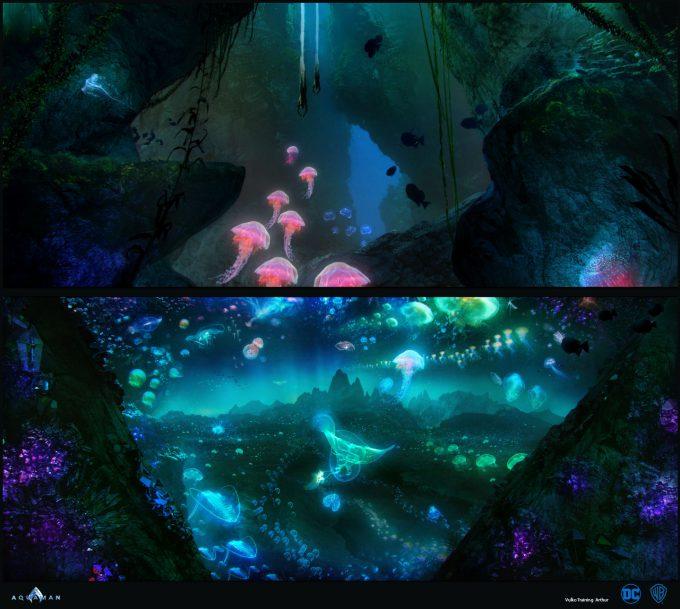 Aquaman Movie Concept Art 11 Vulko Training