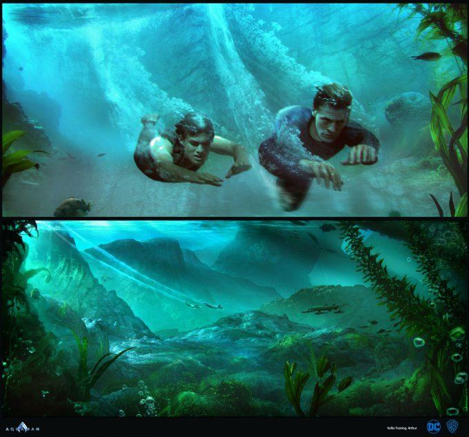Aquaman Movie Concept Art 12 Vulko Training Arthur 3