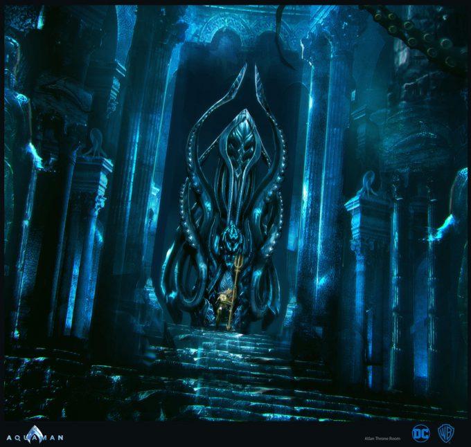 Aquaman Movie Concept Art 14 Throne