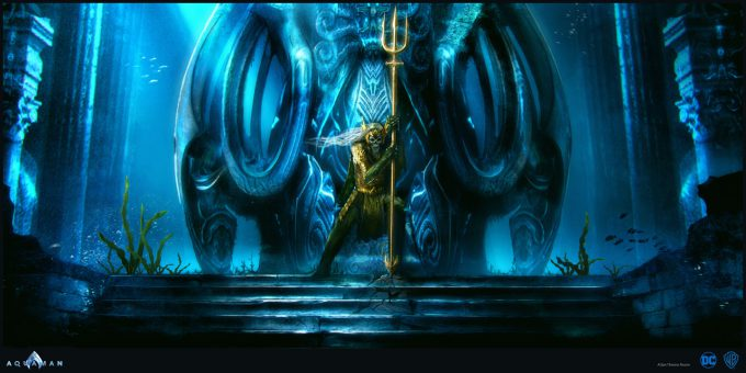 Aquaman Movie Concept Art 15 Dead Kings Throne
