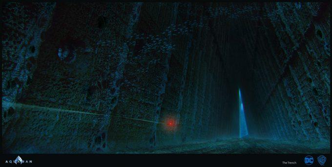 Aquaman Movie Concept Art 16 The Trench