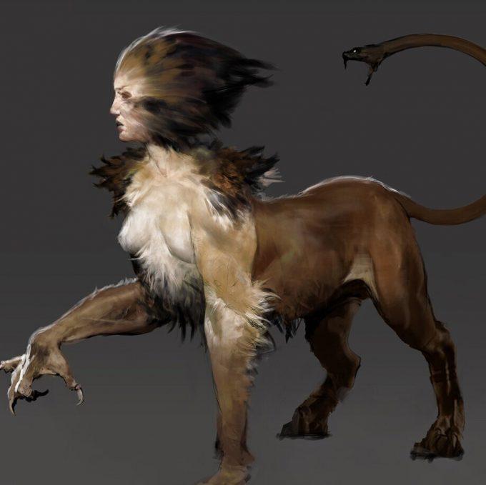Assassins Creed Odyssey Concept Art Creature Design Jeff Simpson 04