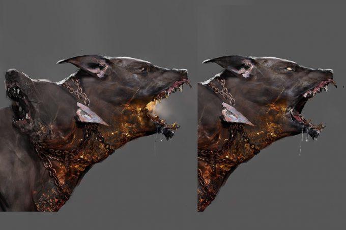 Assassins Creed Odyssey Concept Art Creature Design Jeff Simpson 06