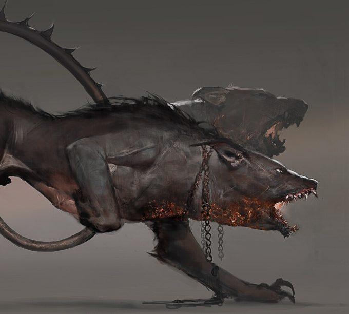 Assassins Creed Odyssey Concept Art Creature Design Jeff Simpson 07