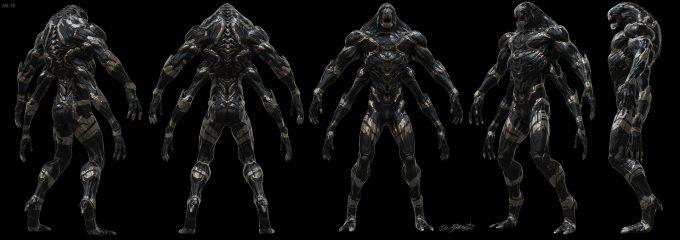 Avengers Infinity War Concept Art Jerad Marantz 01 0utrider 10